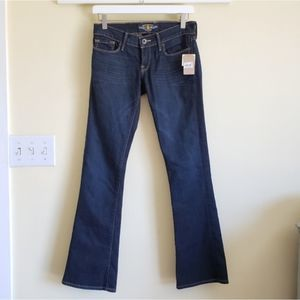 NEW Lucky Brand Boot Cut Blue Jeans Size 0/25